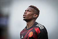 Paul Pogba of Man Utd ahead of the Premier League match between Stoke City and Manchester United at the Britannia Stadium, Stoke-on-Trent, England on 9 September 2017. Photo by Andy Rowland.