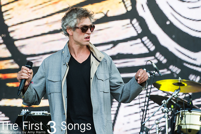 Matisyahu (Matthew Paul Miller) performs at the 2nd Annual BottleRock Napa Festival at Napa Valley Expo in Napa, California.
