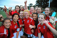130821 Girls Football - Wellington Secondary Schools Bronze Final