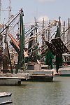Galveston Island - Fishing boats.