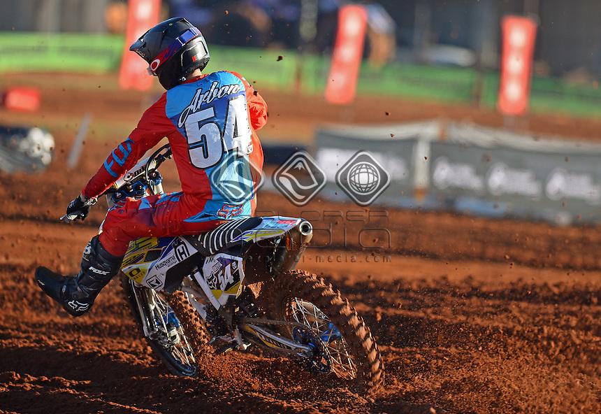 Luke Arbon / Husqvarna<br /> 2015 MX Nationals / Round 4 / MX2<br /> Australian Motocross Championships<br /> Murray Bridge SA Sunday 17 May 2015<br /> &copy; Sport the library / Jeff Crow