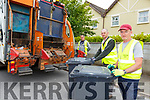 Killarney bin men l-r: Colin O'Grady, James O'Mahony and Tim Culloty working on the front line during the Covid 19 lockdown
