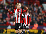 Mark Duffy of Sheffield Utd during the Championship match at Bramall Lane Stadium, Sheffield. Picture date 30th December 2017. Picture credit should read: Simon Bellis/Sportimage