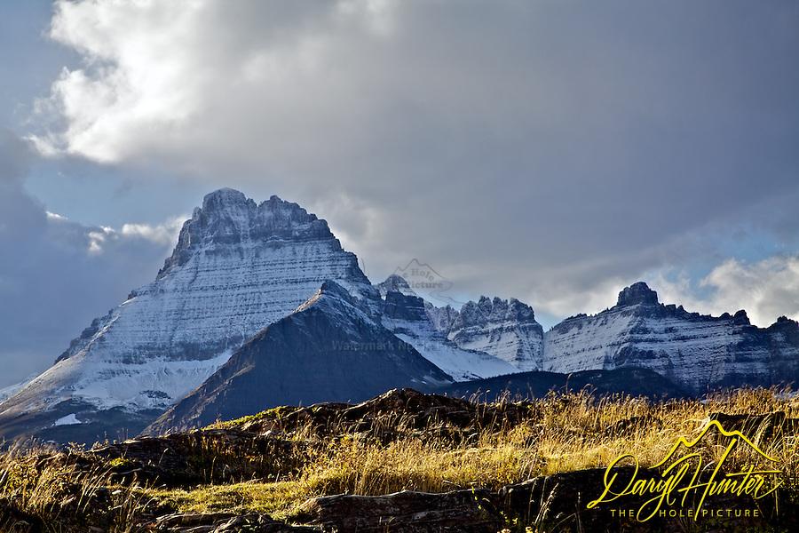 Grinnel Peak, Glacier National Park, Autumn, Fall Colors