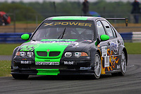 Round 4 of the 2002 British Touring Car Championship. #11 Anthony Reid (GBR). MG Sport & Racing. MG ZS.