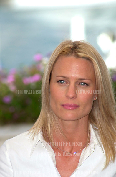 Actress ROBIN WRIGHT PENN at the Cannes Film Festival where her movie The Pledge is in competition..15MAY2001.  © Paul Smith/Featureflash