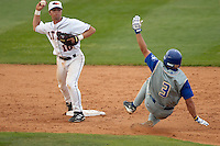 SAN ANTONIO, TX - MARCH 31, 2006: The McNeese State University Cowboys vs. The University of Texas at San Antonio Roadrunners Baseball at Roadrunner Field. (Photo by Jeff Huehn)