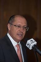 SAO PAULO, SP,  05 DE FEVEREIRO DE 2013. GOVERNADOR ALCKMIN ANUNCIA  NOVAS CPMA E APLICACAO DE PENAS ALTERNATIVAS O governador Geraldo Alckmin durante anuncio de quinze novas Centrais de Penas e Medidas Alternativas (CPMA) em todo o Estado até o final de 2013 e a aplicação de cem mil medidas de penas alternativas.FOTO ADRIANA SPACA/BRAZIL PHOTO PRESS