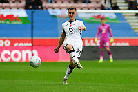 Ben Wilmot of Swansea City in action during the Sky Bet Championship match between Wigan Athletic and Swansea City at The DW Stadium in Wigan, England, UK. Saturday 2 November 2019