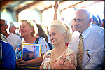 Supporters of former House speaker and Republican presidential candidate Newt Gingrich listen to him speak during a campaign stop in Sarasota, Florida, USA, 24 January 2012. Republican candidates will campaign in Florida in the lead up to the Florida Primary on 31 January 2012.