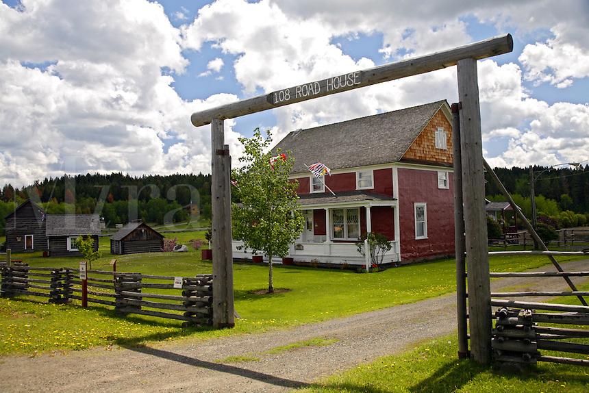 108 Mile House Heritage Site, Alaska Highway, British Columbia.