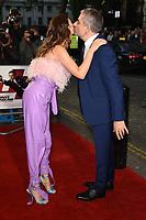 "LONDON, UK. October 03, 2018: Olga Kurylenko & Rowan Atkinson at the premiere of ""Johnny English Strikes Again"" at the Curzon Mayfair, London.<br /> Picture: Steve Vas/Featureflash"