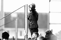 Fleetwood Town's fans applaud their team at the final whistle <br /> <br /> Photographer Lee Parker/CameraSport<br /> <br /> The EFL Sky Bet League One - Fleetwood Town v Blackpool - Saturday 7th March 2020 - Highbury Stadium - Fleetwood<br /> <br /> World Copyright © 2020 CameraSport. All rights reserved. 43 Linden Ave. Countesthorpe. Leicester. England. LE8 5PG - Tel: +44 (0) 116 277 4147 - admin@camerasport.com - www.camerasport.com