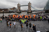 "14.02.2015 - ""Global Divestment Day - London Action at City Hall"""