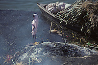 The Ganges River at Varanasi in 1996