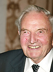 David Rockefeller<br />Attending the United Nations Association of USA Global Leadership Dinner honoring Oprah Winfrey with the Global Humanitarian Action Award at the Waldorf Astoria Hotel in New York City.<br />September 30, 2004