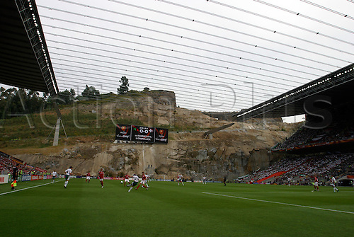 June 18, 2004: A view of the Estadio Municipal de Braga during the Euro 2004 Group C match between Bulgaria and Denmark played at the Estadio Municipal de Braga, Braga, Portugal. Denmark won the game 2-0. Photo: Neil Tingle/Action Plus ..040618 football soccer UEFA European Championships venue venues stadium stadiums stadia