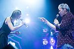 "Conchita and Hombres G attends the ""POR ELLAS"" Concert of Cadena 100 at Barclaycard Center in Madrid, Spain. November 7, 2014. (ALTERPHOTOS/Carlos Dafonte)"