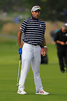 Bubba Watson (Team USA) on the 4th fairway during the Friday Foursomes at the Ryder Cup, Le Golf National, Ile-de-France, France. 28/09/2018.<br /> Picture Thos Caffrey / Golffile.ie<br /> <br /> All photo usage must carry mandatory copyright credit (© Golffile | Thos Caffrey)