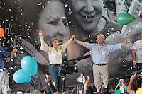 SÃO PAULO,SP,30.07.2016 - ELEIÇÕES-SP - Marta Suplicy e Andrea Matarazzo durante convenção municipal do PMDB 2016 na região norte de São Paulo,neste sábado (30).(Foto : Marcio Ribeiro / Brazil Photo Press)