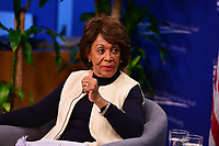 Washington, DC - January 16, 2019: U.S. Representative Maxine Waters, Chair of the House Finance Committee, discusses her priorities for the 116th Congress at the Center for American Progress in Washington, DC, January 16, 2019. The discussion was moderated by CAP CEO Neera Tanden. (Photo by Don Baxter/Media Images International)