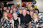 Only 59<br /> ----------<br /> Murray Young from the UK and Ballyvalley pictured celebrating his 60th birthday in Quane's bar, Blennerville along with many friends and family.