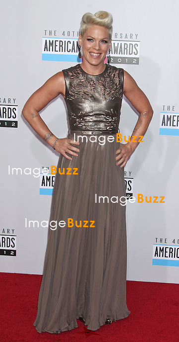Pink, The 40th American Music Awards arrivals at the Nokia Theatre L.A. Live,. Los Angeles, November 18, 2012.