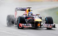 MELBOURNE, AUSTRALIA, 16 MARÇO 2013 - F1 - TREINO CLASSIFICATORIO GP AUSTRALIA -  O piloto alemao Sebastian Vettel da equipe Red Bull durante os treinos classificatórios para o Grande Prêmio da Austrália de Fórmula 1, realizado em Albert Park, na cidade de Melbourne, neste sábado (16). (FOTO: PIXATHLON / BRAZIL PHOTO PRESS).
