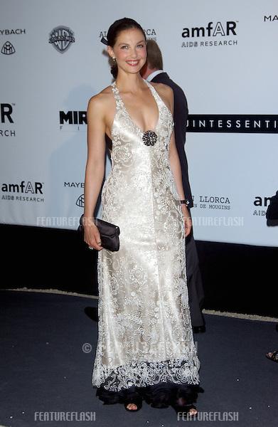 Actress ASHLEY JUDD at the amfAR Cinema Against AIDS Gala at Le Moulins de Mougins restaurant, Mougins, France..May 20, 2004