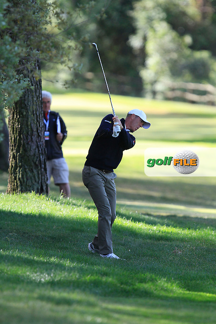 Richard Green (AUS) on the 7th fairway during Round 3 of the Open de Espana  in Club de Golf el Prat, Barcelona on Saturday 16th May 2015.<br /> Picture:  Thos Caffrey / www.golffile.ie