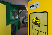 Europe/Belgique/Flandre/Flandre Occidentale/Bruges: Le Musée de la Frite, Friet Museum // Belgium, Western Flanders, Bruges: Frietmuseum in Bruges is the first and only museum dedicated to potato fries.belgian fries