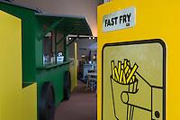 Europe/Belgique/Flandre/Flandre Occidentale/Bruges: Le Musée de la Frite, Friet Museum // Belgium, Western Flanders, Bruges: Frietmuseum in Bruges is the first and only museum dedicated to potato fries.belgian fries