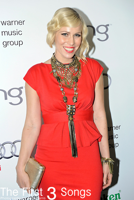 Natasha Bedingfield attends the Warner Music Group/Bing Grammy Event at the Soho House in LA on Sunday February 13, 2011.