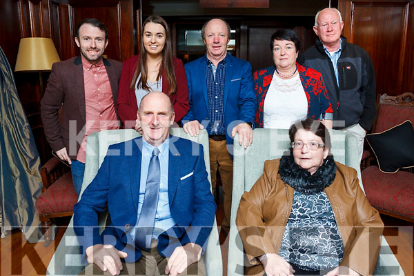 Shiela Flaherty of Lixnaw, (Seated front) celebrating her birthday with her family in the Ballygarry Hotel on Saturday night last.<br /> Standing L to R: James Flaherty, Jennifer Conway, Sean Flaherty, Catherine Kelly and Aidan Connolly. Brian Kelly seated front.