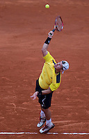 Lleyton Hewitt (AUS) (28) against Rafael Nadal (ESP) (2) in the second round of the men's singles. Rafael Nadal beat Lleyton Hewitt 6-3 6-4 6-3..Tennis - French Open - Day 7 - Say 30 May 2010 - Roland Garros - Paris - France..© FREY - AMN Images, 1st Floor, Barry House, 20-22 Worple Road, London. SW19 4DH - Tel: +44 (0) 208 947 0117 - contact@advantagemedianet.com - www.photoshelter.com/c/amnimages