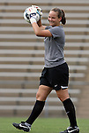 28 August 2009: Duke's Tara Campbell. The Duke University Blue Devils lost 1-0 to the University of North Carolina Greensboro Spartans at Fetzer Field in Chapel Hill, North Carolina in an NCAA Division I Women's college soccer game.