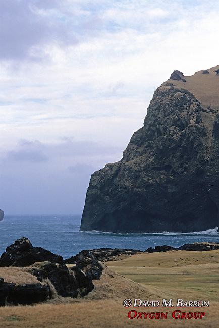 Coast Of Vestmannaeyjar