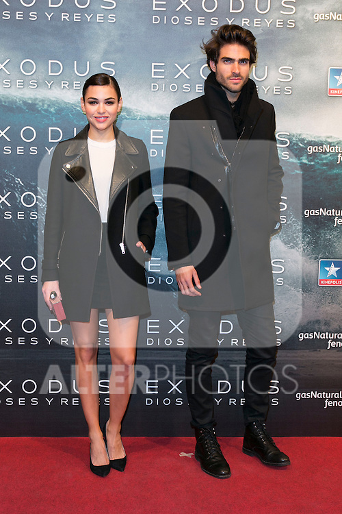 "Juan Betancourt attend the Premiere of the movie ""EXODUS: GODS AND KINGS"" at callao Cinema in Madrid, Spain. December 4, 2014. (ALTERPHOTOS/Carlos Dafonte)"