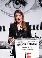 Princess Letizia of Spain attends the 'El Barco de Vapor' literature awards .April 9, 2013.(ALTERPHOTOS/Acero) /NortePhoto
