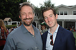 James Busby, David Regan==<br /> LAXART 5th Annual Garden Party Presented by Tory Burch==<br /> Private Residence, Beverly Hills, CA==<br /> August 3, 2014==<br /> &copy;LAXART==<br /> Photo: DAVID CROTTY/Laxart.com==