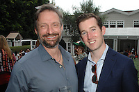 James Busby, David Regan==<br /> LAXART 5th Annual Garden Party Presented by Tory Burch==<br /> Private Residence, Beverly Hills, CA==<br /> August 3, 2014==<br /> ©LAXART==<br /> Photo: DAVID CROTTY/Laxart.com==