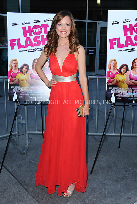 WWW.ACEPIXS.COM<br /> <br /> June 27 2013, LA<br /> <br /> Rachel Boston arriving at the premiere of 'The Hot Flashes' at ArcLight Cinemas on June 27, 2013 in Hollywood, California.<br /> <br /> By Line: Peter West/ACE Pictures<br /> <br /> <br /> ACE Pictures, Inc.<br /> tel: 646 769 0430<br /> Email: info@acepixs.com<br /> www.acepixs.com