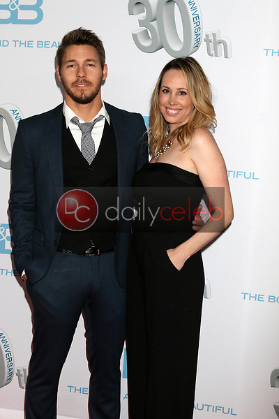"""Scott Clifton, Nicole Lampson<br /> at the """"The Bold and The Beautiful"""" 30th Anniversary Party, Clifton's Downtown, Los Angeles, CA 03-18-17<br /> David Edwards/DailyCeleb.com 818-249-4998"""