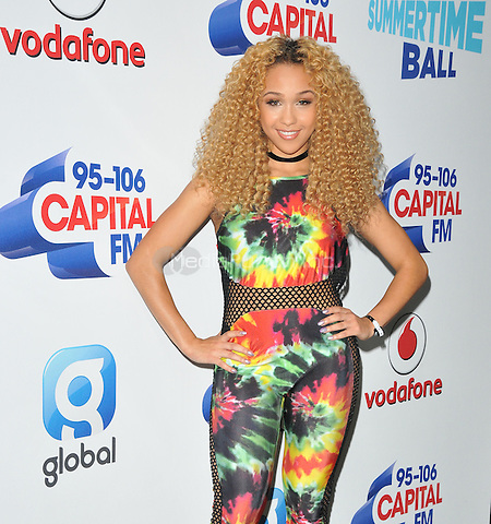 Imani at the Capital FM Summertime Ball in aid of the Help a London Child charity, Wembley Stadium, Wembley, London, England, UK, on Saturday 11 June 2016.<br /> CAP/CAN<br /> &copy;CAN/Capital Pictures /MediaPunch ***NORTH AND SOUTH AMERIcAS ONLY***