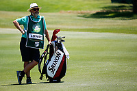 Caddy Brian Martin (Irl) during the 3rd round at the Nedbank Golf Challenge hosted by Gary Player,  Gary Player country Club, Sun City, Rustenburg, South Africa. 10/11/2018 <br /> Picture: Golffile | Tyrone Winfield<br /> <br /> <br /> All photo usage must carry mandatory copyright credit (&copy; Golffile | Tyrone Winfield)