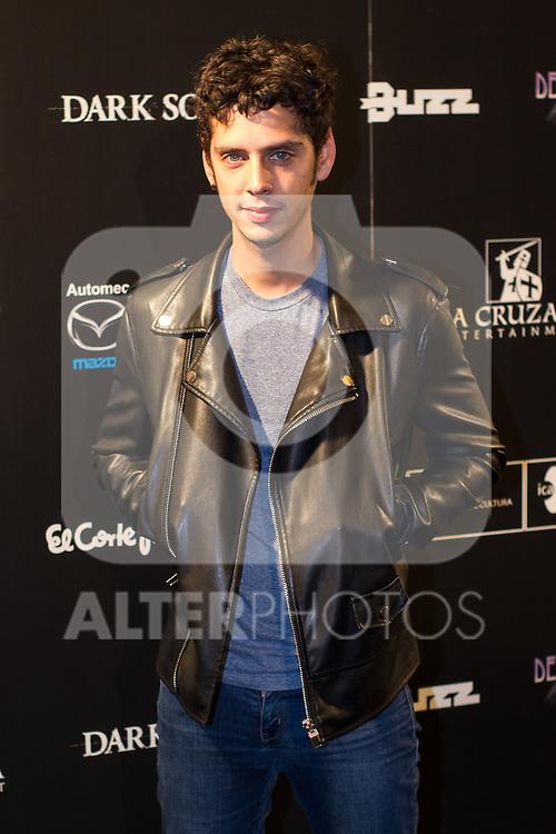 Eduardo Casanova at Nocturna, the international festival of fantastic cinema of Madrid. May 23,2016. (ALTERPHOTOS/Rodrigo Jimenez)