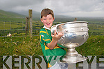 Daire Kennelly with the Sam Maguire  Copyright Kerry's Eye 2008