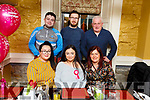 Caitlin Guerin from Causeway celebrating her 16th birthday in the Brogue Inn on Friday night.<br /> Seated l to r: Louise, Caitlin and Kathleen Guerin.<br /> Back l to r: Adam Guerin, John Joe O&rsquo;Connell and Danny Guerin.