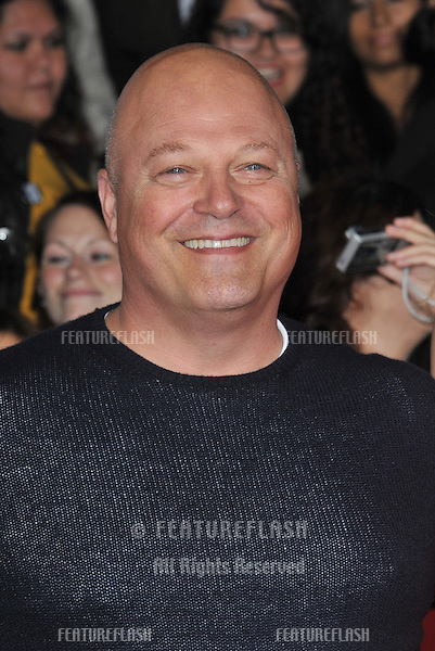 Michael Chiklis at the US premiere of &quot;The Hunger Games: Catching Fire&quot; at the Nokia Theatre LA Live.<br /> November 18, 2013  Los Angeles, CA<br /> Picture: Paul Smith / Featureflash