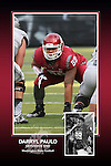 Memorabilia print for Darryl Paulo from the 2015 Washington State football season in which the Cougs went 9-4, including a Sun Bowl victory over the Miami Hurricanes.